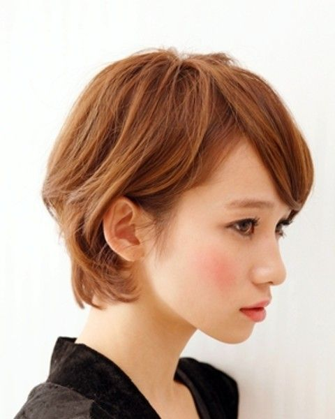 happy short hair 幸せショート #short bob hair