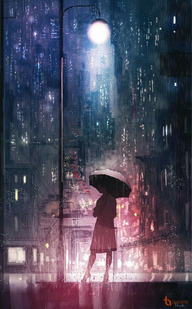 Such As Rain Forever Anime Scenery Anime Art
