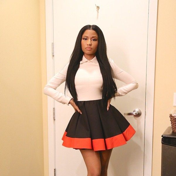 Why did high school deny Nicki Minaj motivational talk?