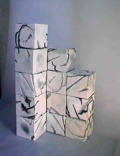 ceramique, art, chinese calligraphi
