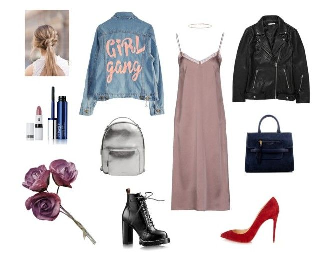 chops and changes by alena-mr on Polyvore featuring polyvore fashion style jucca T By Alexander Wang High Heels Suicide Christian Louboutin Marc Jacobs MANGO EF Collection Clinique Lipstick Queen clothing