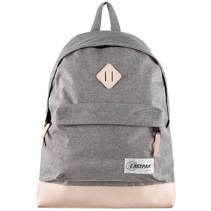 New collaboration between EASTPAK and A.P.C. Classic Backpack Grey.Both A.P.C. and EASTPAK are legendary in their own right. A.P.C. is deeply entrenched in the bloodline of French apparel, while American brand EASTPAK has carried the torch for sturdy, durable bags since its inception in 1960. The two brands have come together in their first-ever collaborations, featuring a stylish three-piece range that simultaneously speaks to both brands' commitment to quality.Included here is…