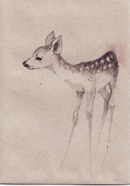 Looking at inspiration & references of fawns. Sketching some outt. Pretty sure I want a tattoo of one, but I'm making myself wait. And figuring out where I want it! #fawn #tattoo