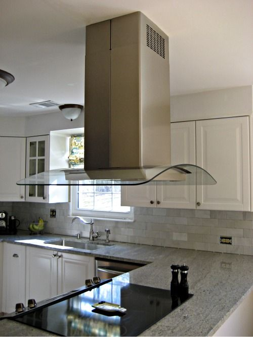 25 best ideas about island range hood on pinterest - Kitchen peninsula with stove ...