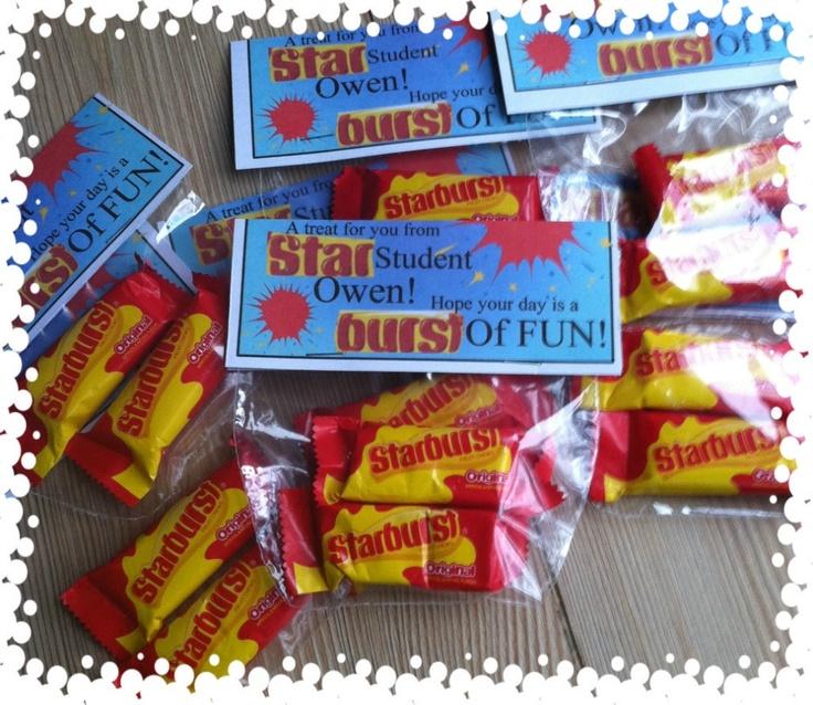Starburst Star Student Treat