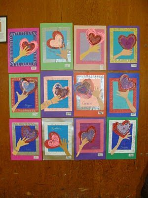 GREAT possible twist to Jim Dine hearts