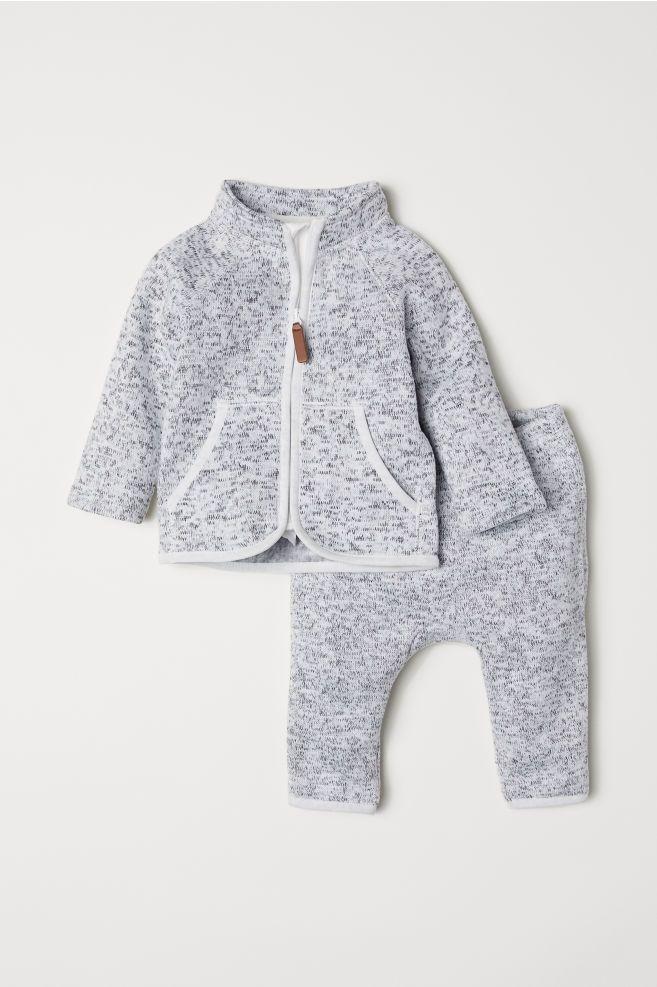 569c8bcc04a7 Fleece Jacket and Pants
