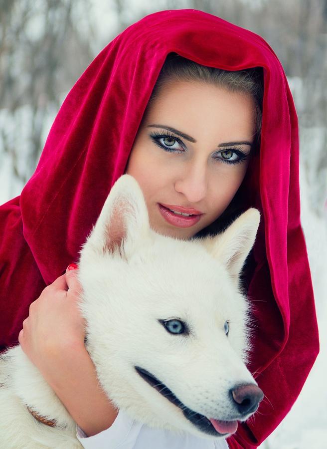 Красная шапочка by Natalia Levchenko, via 500px
