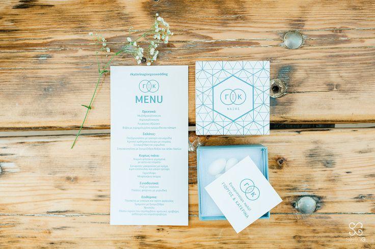 Tailor made stationary  #stationary #menu #box #favorbox #weddingfavor #blueandwhite #destinationwedding #greekwedding #summerwedding #weddingplanner #dreamsinstyle