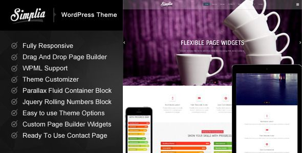 Simplia - Multi - Purpose WordPress CMS Theme