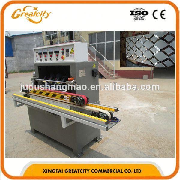 Máquina de procesamiento de vidrio/straight forma de la línea de pulido de la máquina/45 ángulo de pulido de la máquina