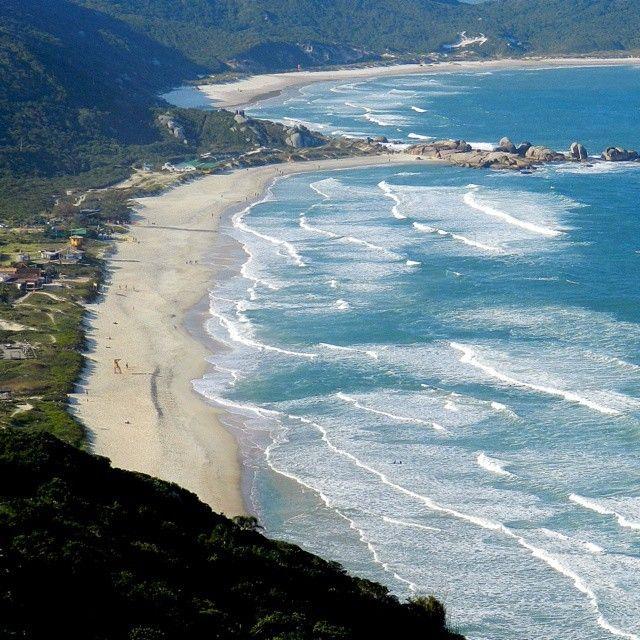 Praias Mole e Galheta - Florianópolis, Santa Catarina (by @heversonsantos)