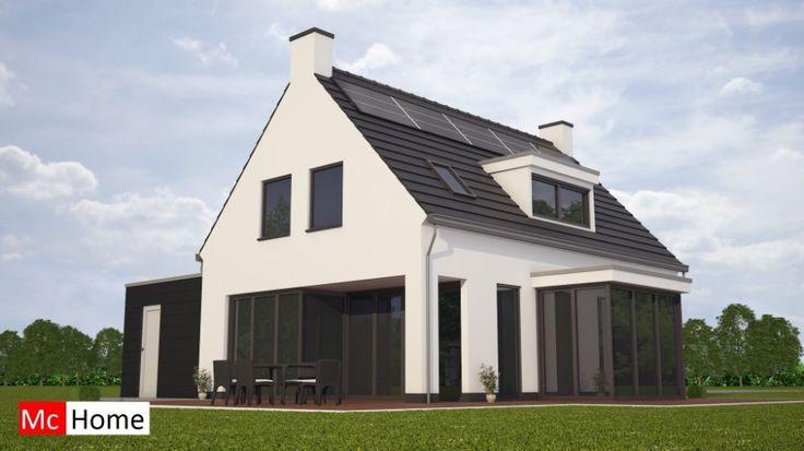 Mc k46 v2 moderne nieuwe woning bouwen met kap en for Nieuwe woning bouwen