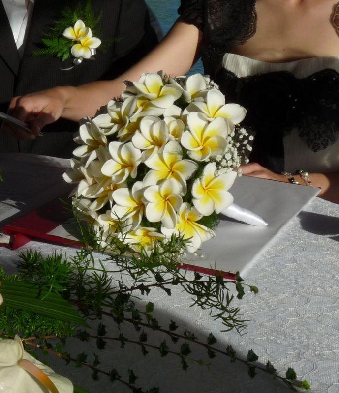 Frangipanier Coup D Oeil Chez Kernini Mariage Bouquet Wedding