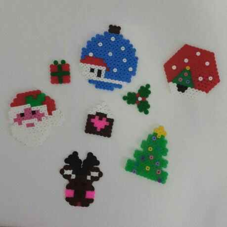 DIY Christmas hama beads