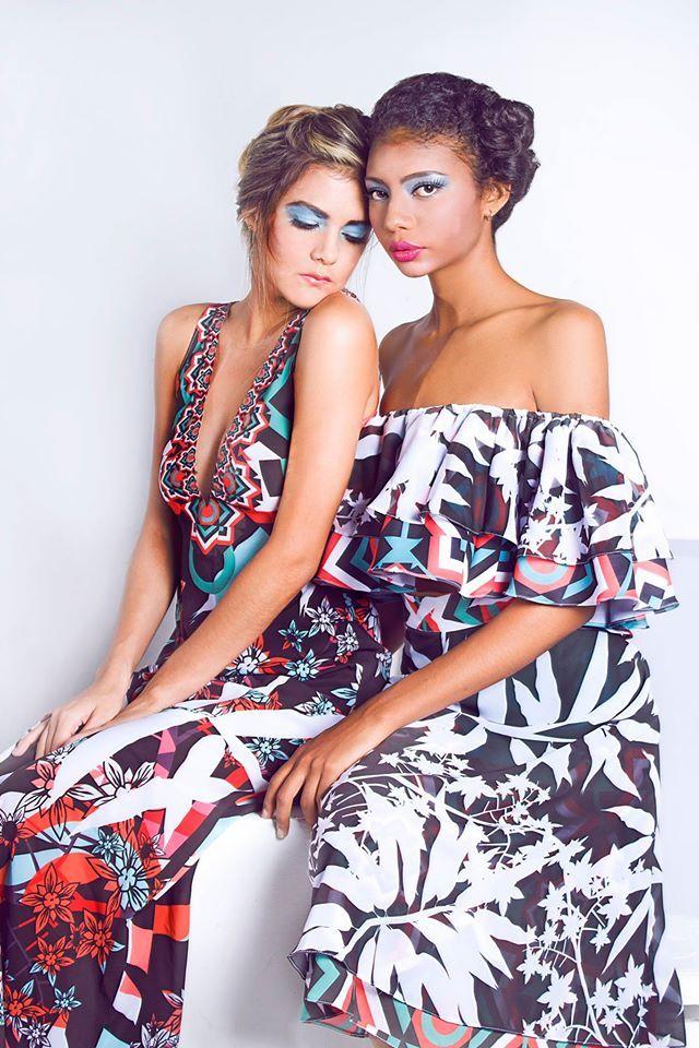 Photography Workshop with Ikebana Magazine y @saulorincon  Vestido & calzado: AMARGO. Colección Origen. Styling: Saulo Henao. Make up: Betsabé Henao. PH: Andrés Mancilla Models: Jessica Solano and Mara Mendez  #altamoda #fashionphotography #malemodels