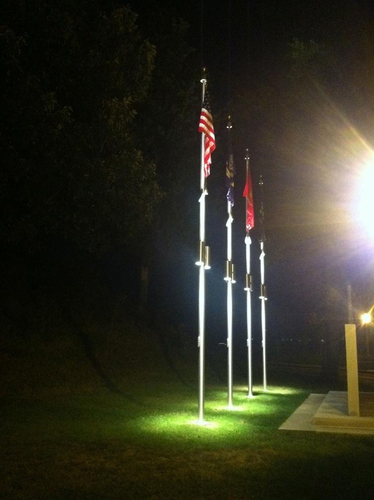 best flagpole light
