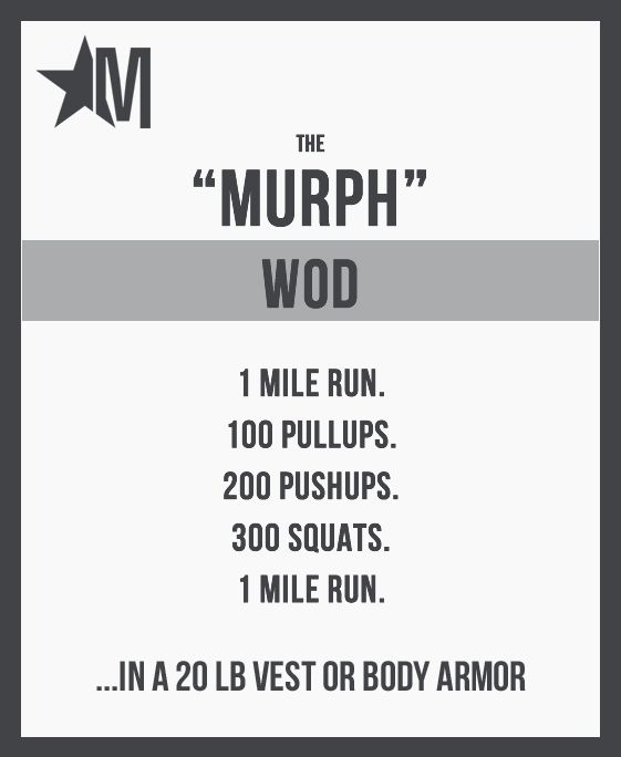 Can you handle the Murph Challenge? Memorializing alumnus Lt. Michael Murphy, this #CrossFit Workout Of the Day is intense. #WOD