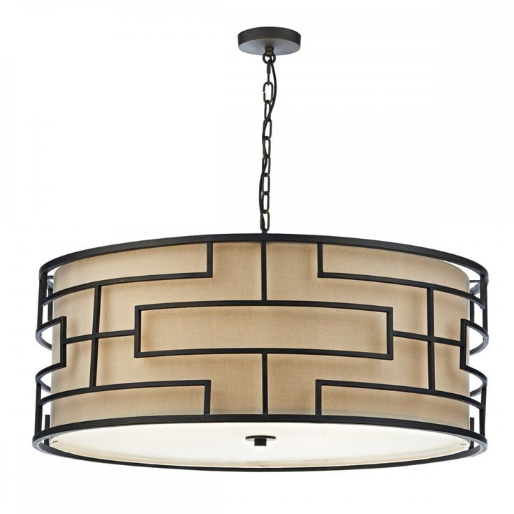 Good way to disguise a ceiling fan?  ... Ceiling Fan Large Art Deco Drum Pendant Ceiling Light Bronze With Largest Hunter Ceiling Fan Ceiling Fan Size For Large Great Room