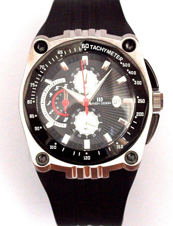Popular chronograph. Danish Design chronograph with 70% discount.