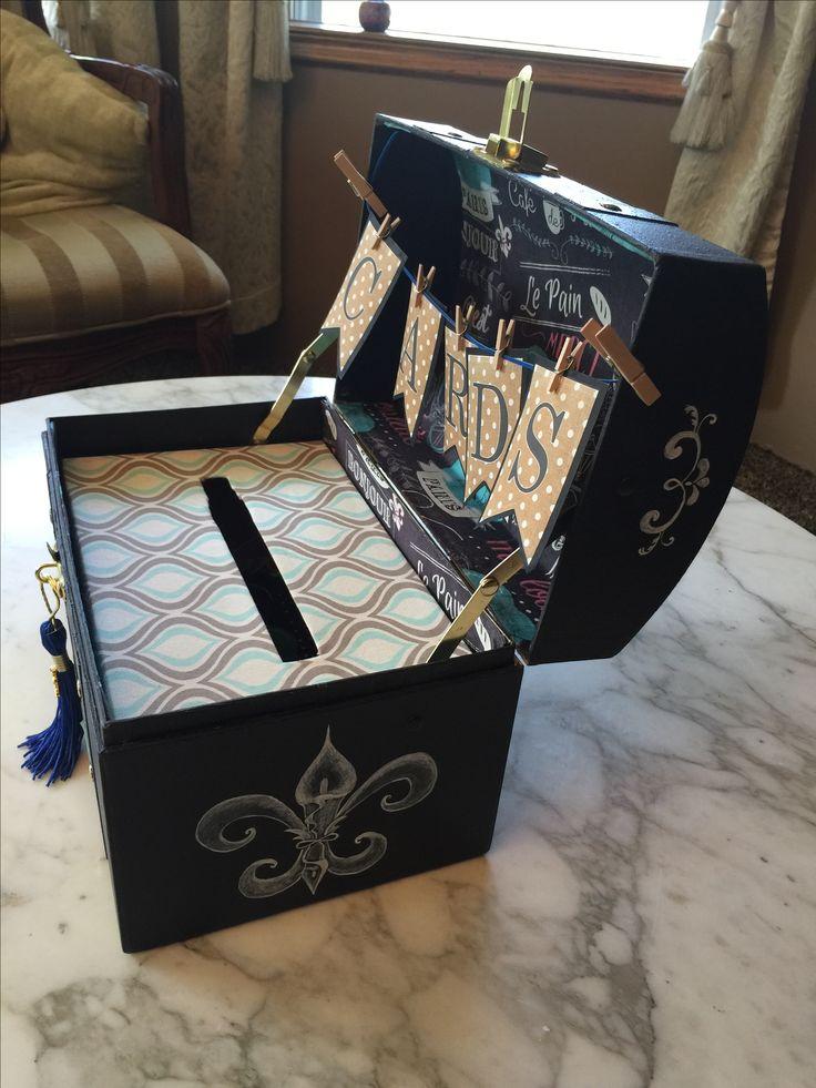 Grad Party Card Box Ideas