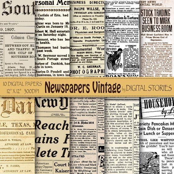 Best 25 Old Newspaper Ideas On Pinterest Paper Basket