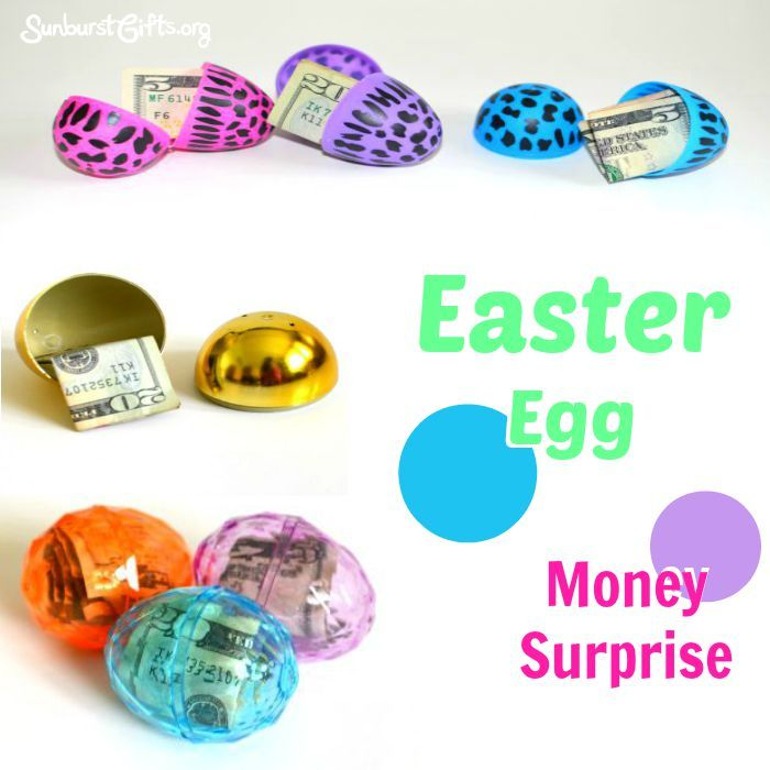 58 best creative money gifts thoughtful gift ideas images on easter egg money surprise negle Choice Image
