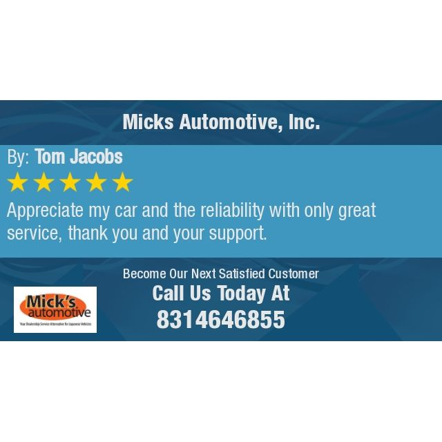 Appreciate My Car And The Reliability With Only Great Service