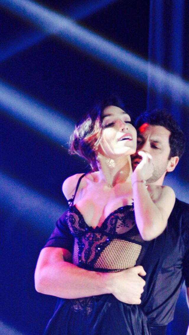 Meryl and Maks Shall We Dance on Ice December 2014
