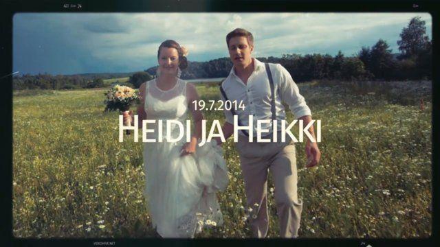 #weddings of Heidi ja Heikki 2014