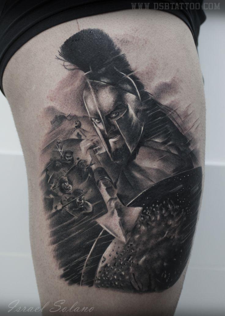 #madrid #tatuaje #300 #realismo #tattoo #espartano #guerrero #realism