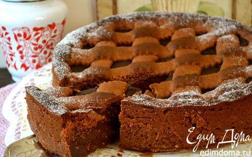 Очень шоколадная кростата | Кулинарные рецепты от «Едим дома!»