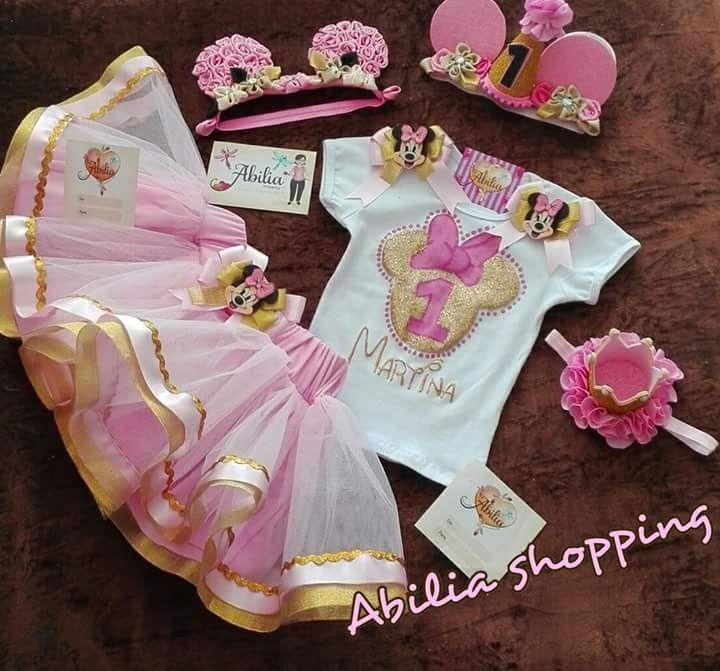 Conjunto tutu personalizado y accesorios minie Whatsapp 3132196957 Abilia shopping
