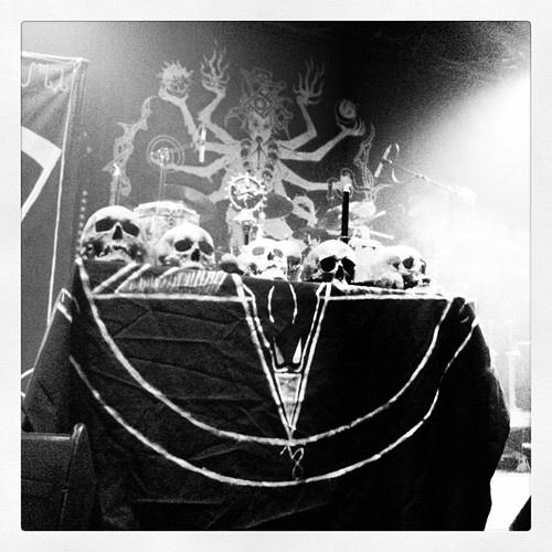 Satan pagan ritual old movie