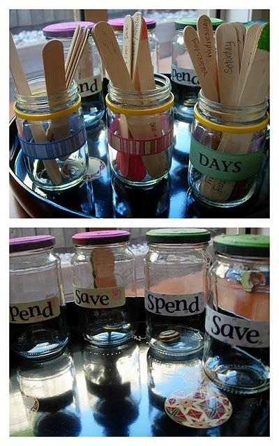 chore chart: Kids Allowance, Chore Sticks, Allowance Jars, Kids Stuff, Chore Ideas, Lessons Plans, Behavior Allowance Charts, Chore Charts, Crafty Mummy