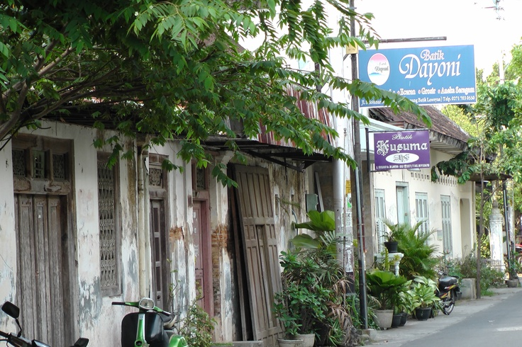 """Batik Village Laweyan"" Solo - Indonesia (Kampoeng Batik)"