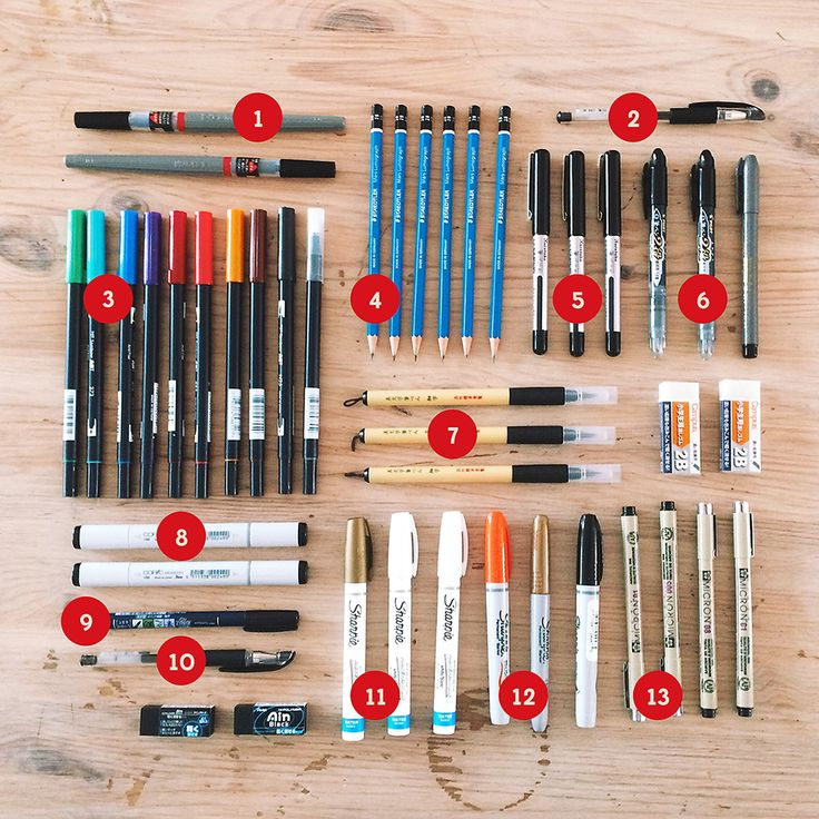 Lost Type Blog | Field Trip Drawing Tools