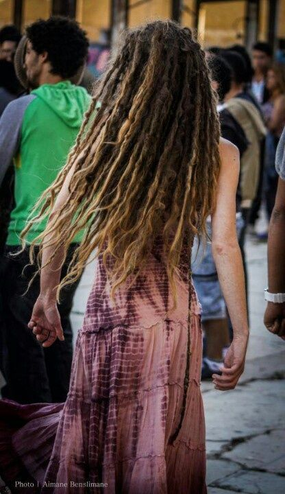 Boho chick with dreads!