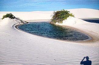 http://en.wikipedia.org/wiki/Lençóis_Maranhenses_National_Park