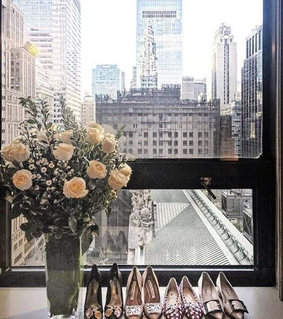 Fabulous footwear and Grand views are the perfect start to another day of NYFW at Grand Hyatt New York. Continue following Chriselle Lim's fashion week adventures with #LivingGrand.