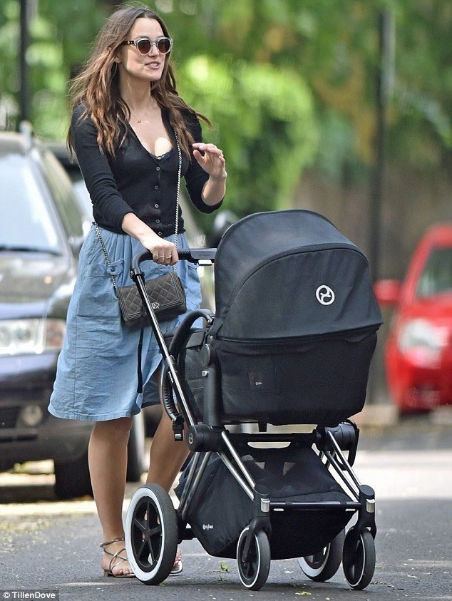 Keira Knightley revealed she has bounced back to her svelte pre-pregnancy self as she took...
