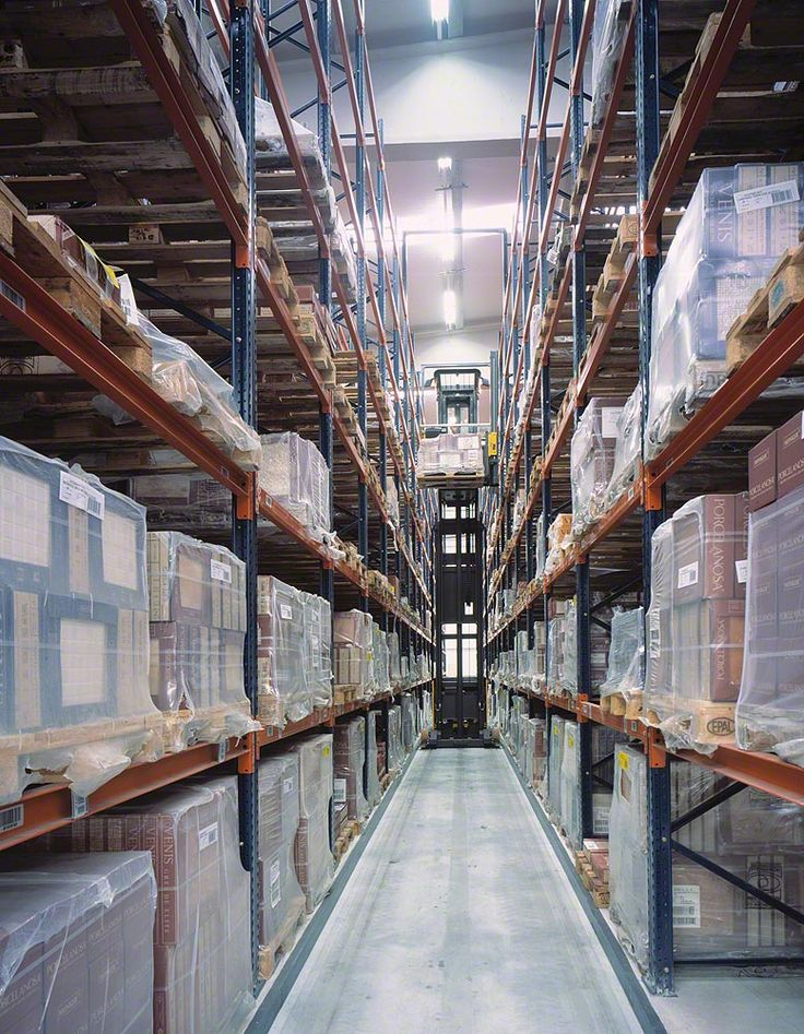 Conventional pallet racking | Pallet racking |