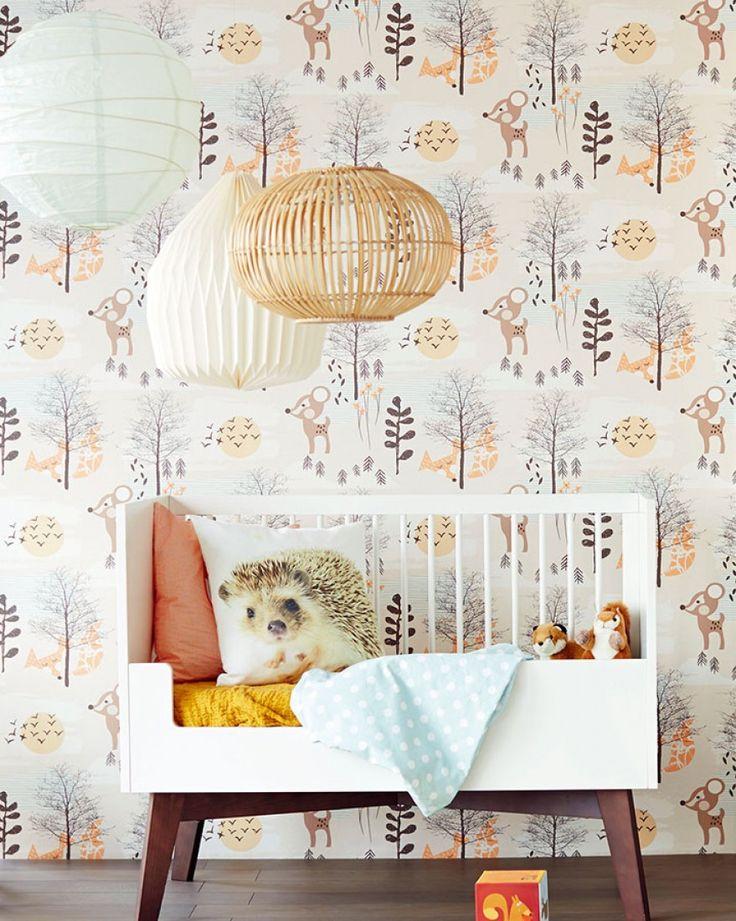 Las 25 mejores ideas sobre habitaciones de los 70s en for Papel pintado infantil
