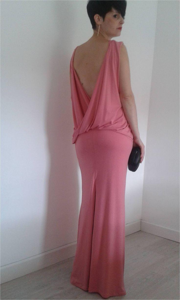 Vestido boda rosa chicle - Temporada: Primavera-Verano - Tags: Boda, rosa, largo - Descripción: Vestido largo color rosa chicle para boda de noche