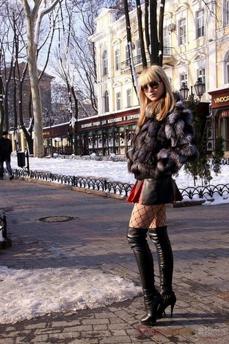 Russian Street Style Pretty Ladies Pinterest
