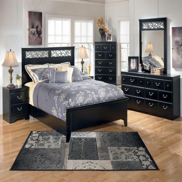 Black Wood Bedroom Set   Modern Bedroom Sets Queen Check More At Http://