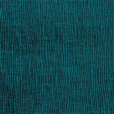 Turquoise Velvet Upholstery Abstract Blue Fabric