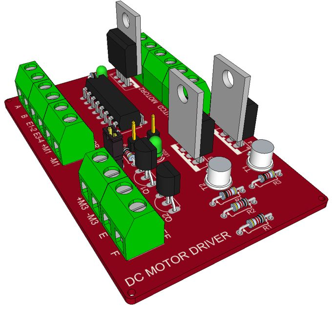 Dc motor driver using l293d electronica pinterest arduino dc motor driver using l293d electronica pinterest arduino electronics projects and circuit diagram sciox Image collections