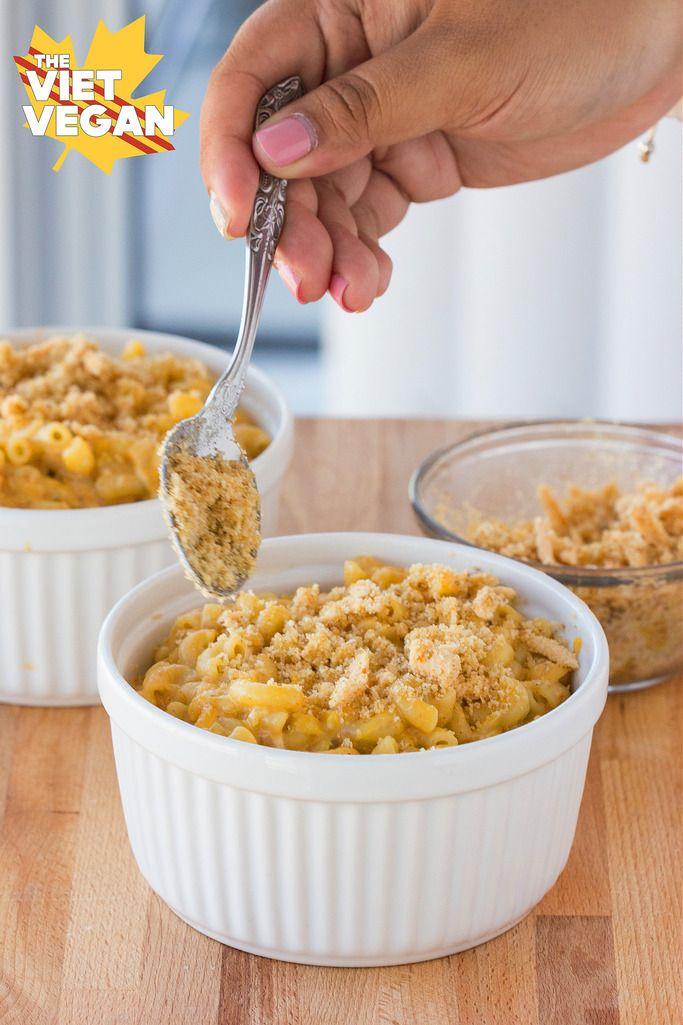 Vegan Creamy Baked Mac and Cheese