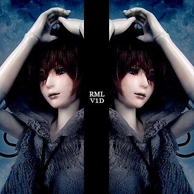 RML PHANTASY HEARTS V1D FACE by RMLBJD.deviantart.com on @deviantART #bjd #3dprinter #balljointeddoll #doll